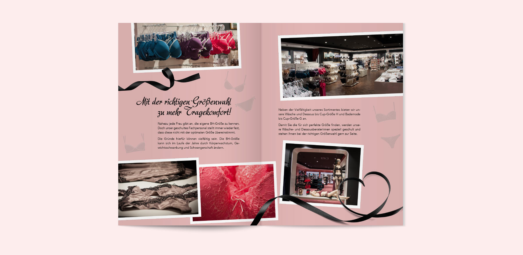Folder Design für Wäscheabteilung 04